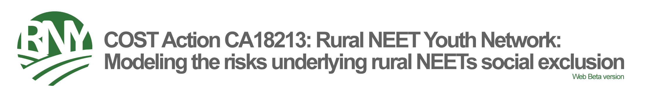 Rural NEET Youth Observatory - COST Action CA18213